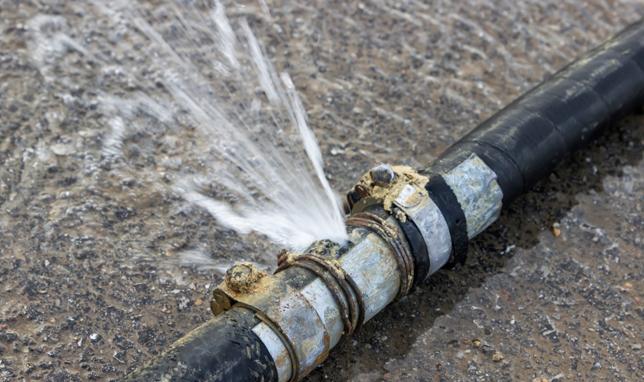 Localización fuga de agua